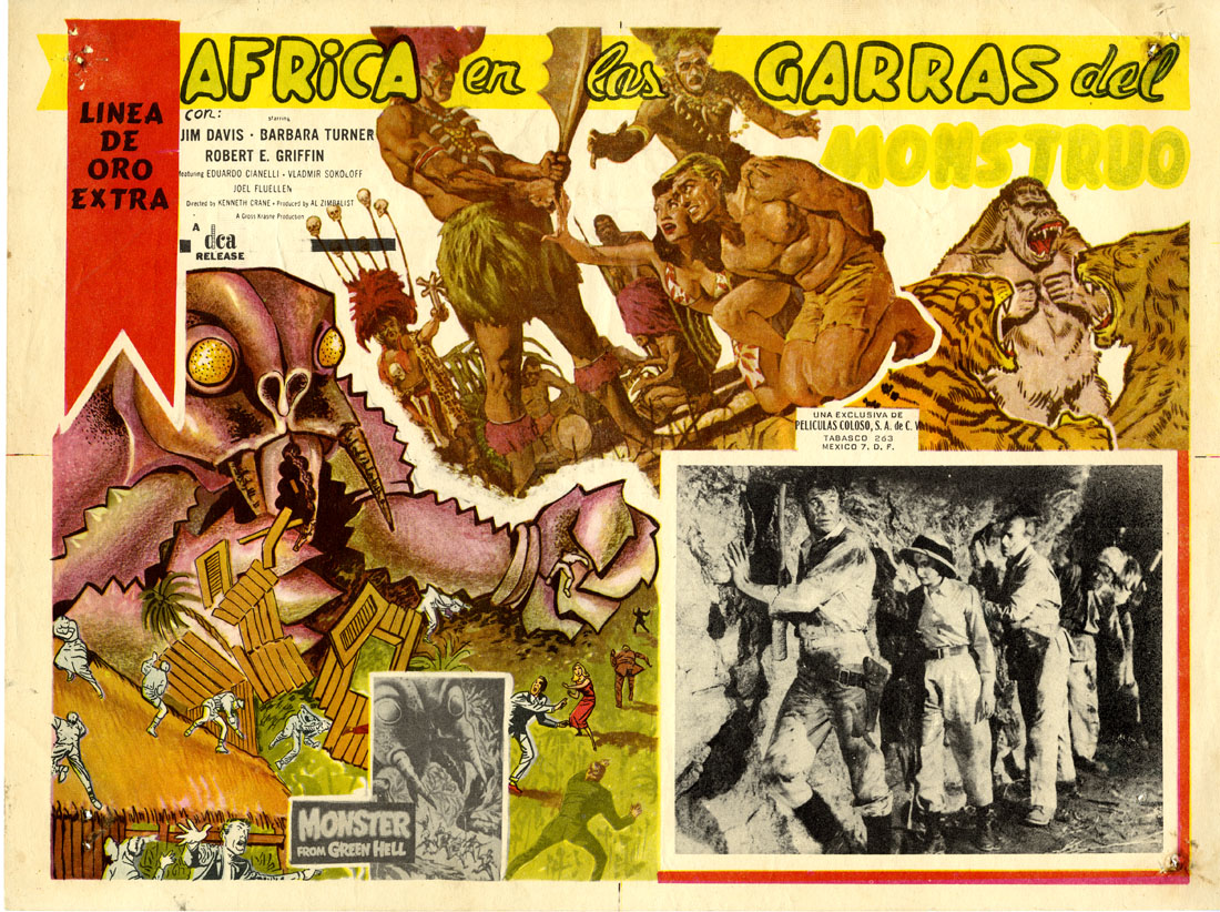 Africa en las Garras del Monstruo (Monster from Green Hell)