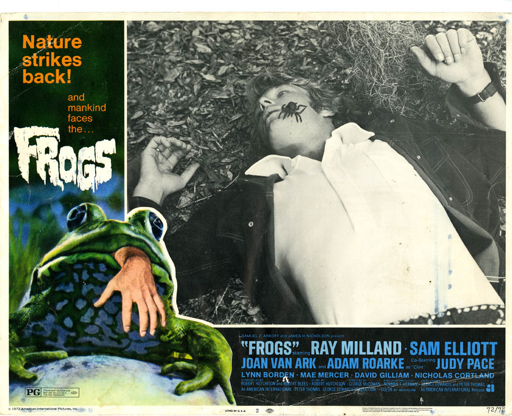 Frogs - lobby card