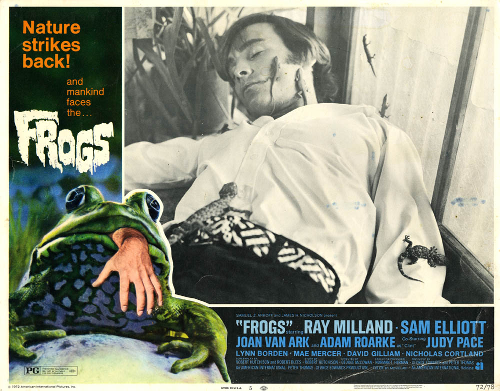 Frogs Lobby Card