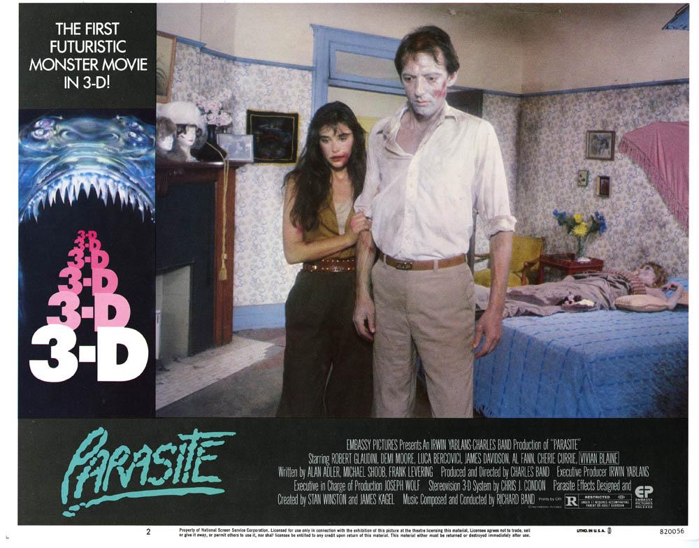 Parasite in 3-D - MEM Arthropod Movie Posters and Memorabilia